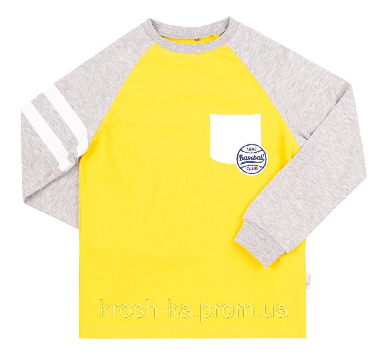 Реглан для мальчика супрен жёлтый (104-146)р (Bembi)Бемби Украина ФБ755
