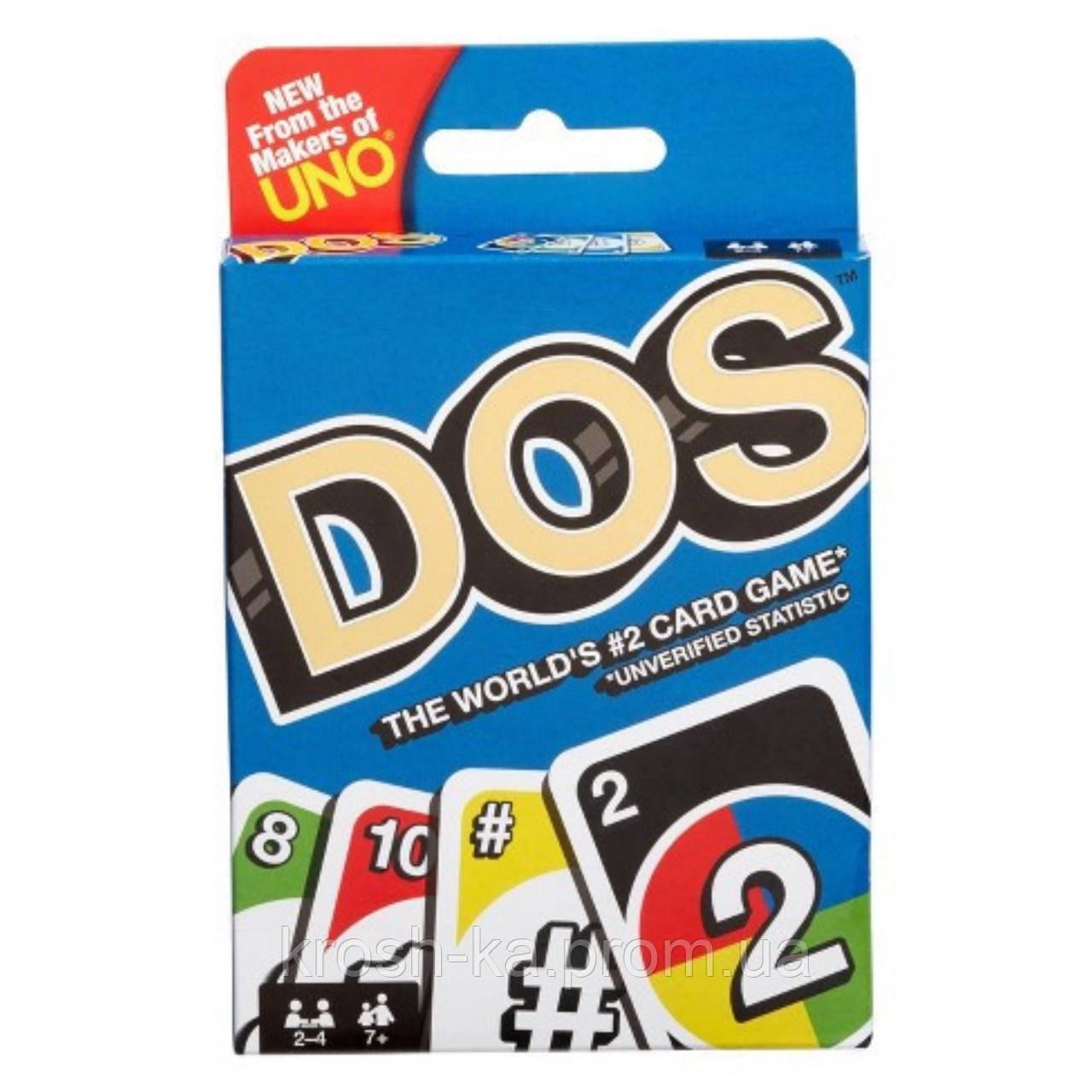 Карточная игра  DOS UNO FRM36