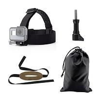 Кріплення на голову для екшн-камер GoPro, Insta360, Sjcam, EKEN, NIKON, SOOCOO, Sony, Garmin