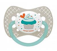 Пустышка силиконовая симетричная Cupcake  6-18м Canpol Babies Польша 23\284