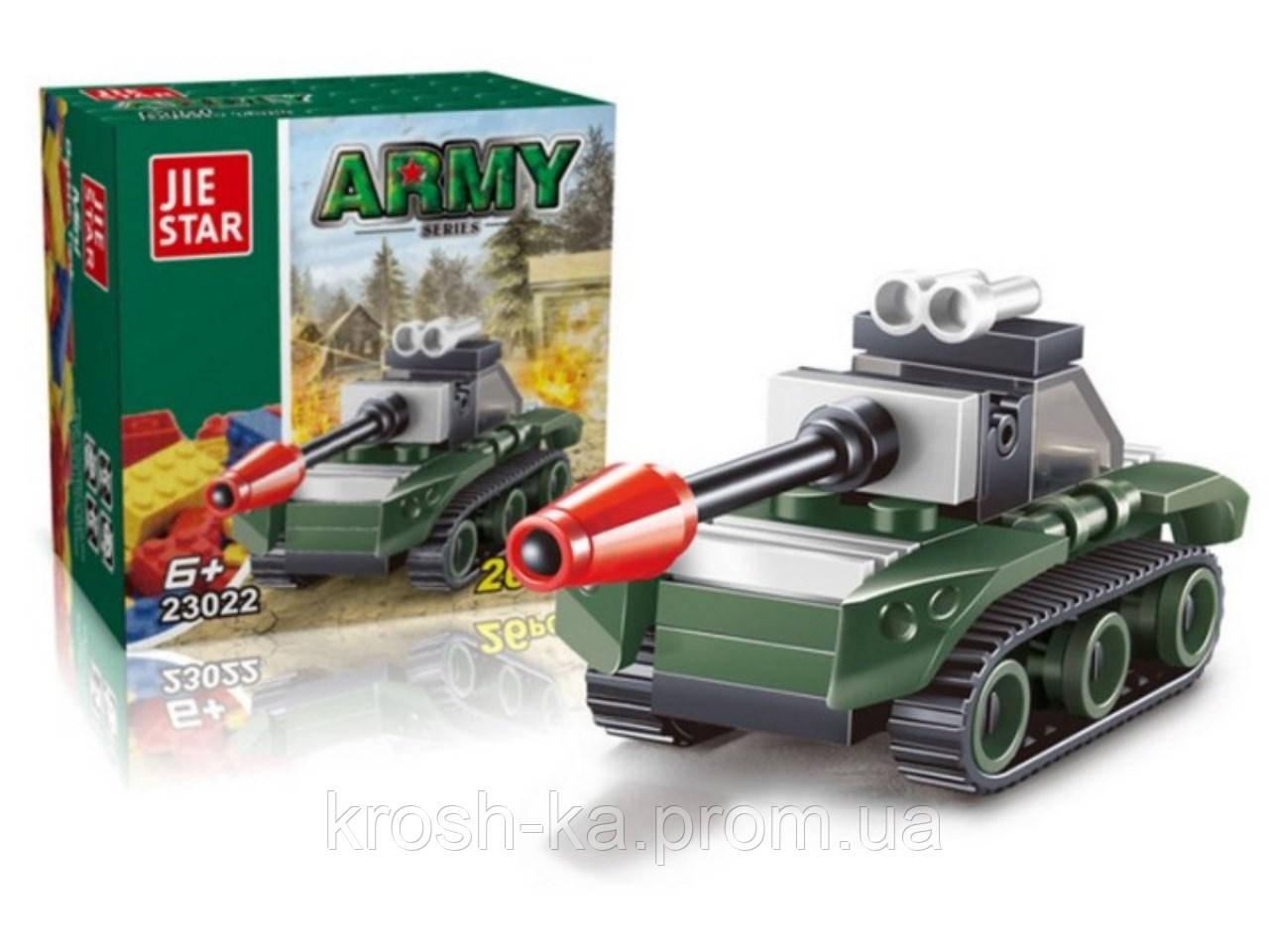 Конструктор Армия Jie Star 26 деталей Китай 23022