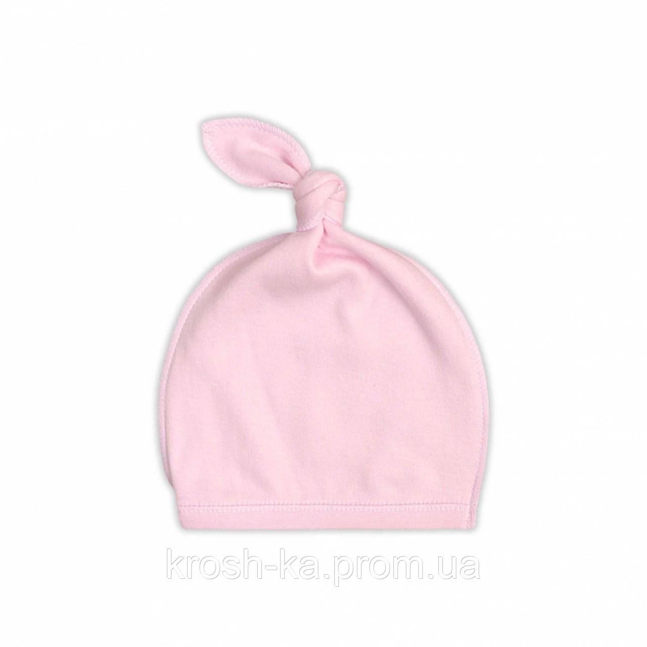 Шапочка для новорожденных Sweet Teddy (Гарден)Garden Baby Украина розовая 25190-02