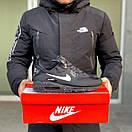 Кросівки чоловічі зимові Nike Air Max 90 Winter Black, фото 2