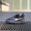 Кросівки чоловічі зимові Nike Air Max 90 Winter Black, фото 5