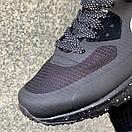 Кросівки чоловічі зимові Nike Air Max 90 Winter Black, фото 7