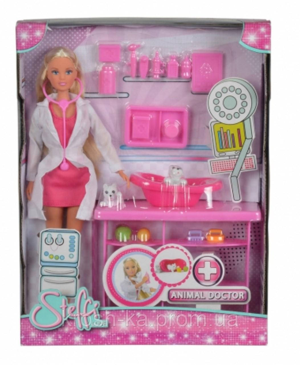 Кукла Штеффи-ветеринар Симба Toys 7393