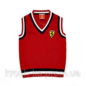 Жилет для мальчика Ferari (92-140)р Vilen Китай красный 6595