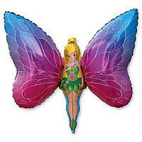 Фольгированная фигура Фея-бабочка 60см Китай 1207-1164