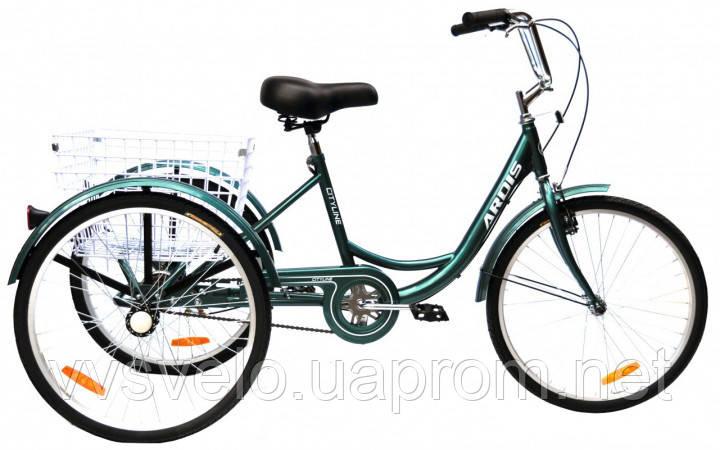 Ardis cityline 24 трёхколёсный для взрослых велосипед