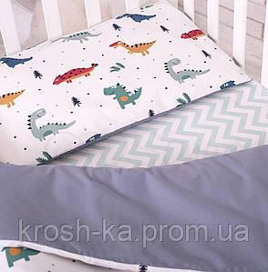 Сменный постельный комплект 3 предмета СКПБ Baby Design Динозавр Маленькая Соня(Sonya) Украина 0319186