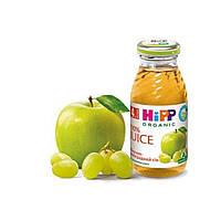 Сок детский яблоко виноград 4м+ 200мл Hipp Германия 8030