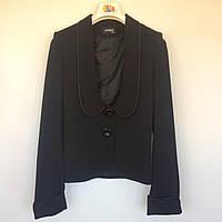 Пиджак для девочки Ashen Турция чёрный 1454