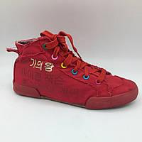 Кеди для дівчинки (36 розмір) Китай червоні 2116
