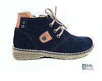 Зимние детские ботинки кожаные Constanta., фото 1