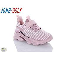 Кроссовки для девочки сетка розовый(31-36)р Jong Golf Китай C1914-8