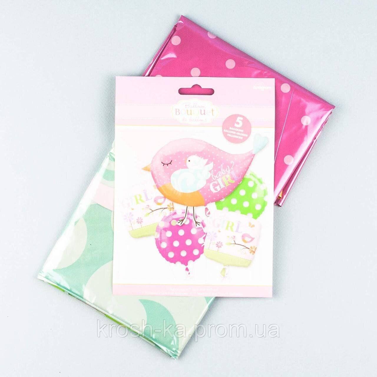 Фольгироваый набор шаров Птичка с подарками 5шт Anagram США 111118
