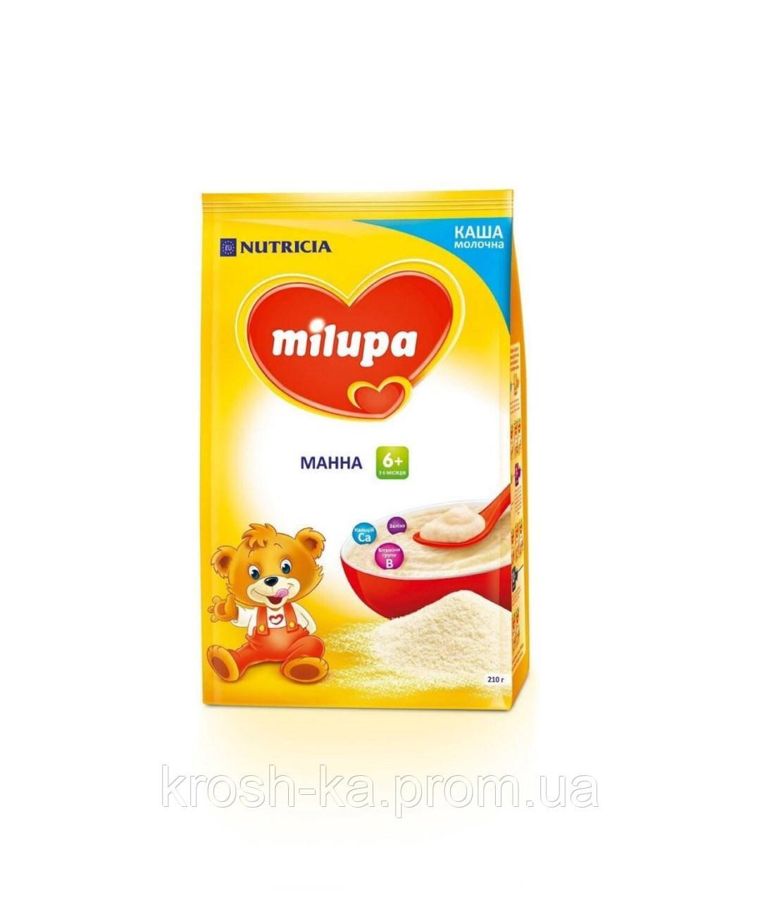Каша молочная манная 6м+ 210г Nutricia 610024