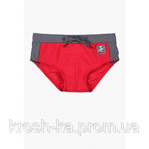 Плавки для мальчика slip Boboli Испания Red/Grey 833127