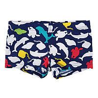 Плавки для хлопчика boxer Print Fish Boboli Іспанія синій 813013