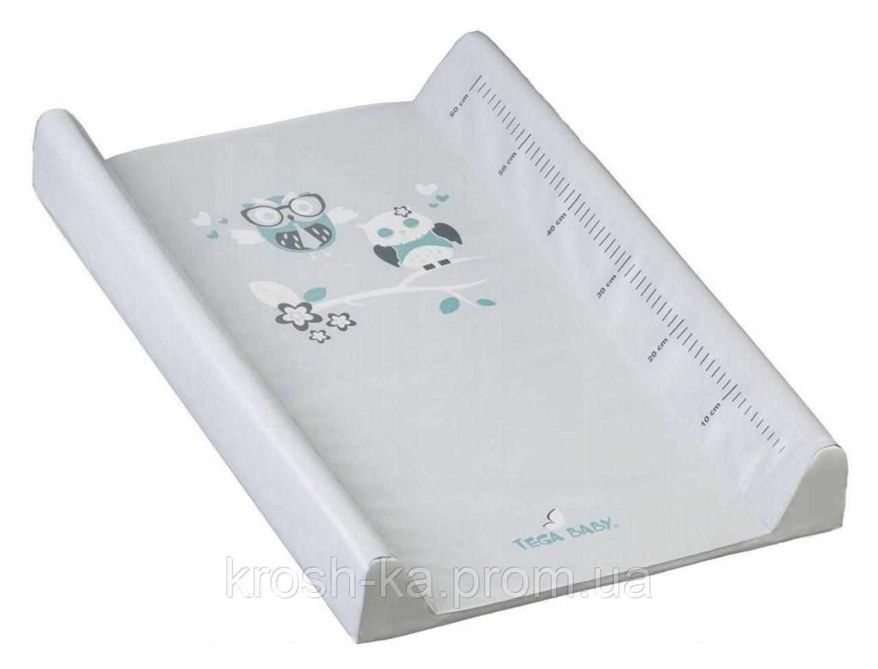 Пеленатор детский Совушки серый 60см Tega Польша SO-009-106