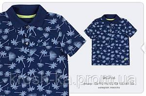 Футболка-поло для мальчика (110-134)р лакоста синий (Bembi)Бемби Украина ФБ766