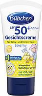 Крем солнцезащитный для лица с коэффициентом защиты SPF +50 50мл Bubchen Германия 63659