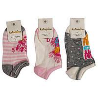 Носки для девочки короткие Estifal ассорти (1-2,7-8)л Katamino Турция K20171
