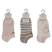 Носки для девочки короткие Aidan ассорти (1-10)л Katamino Турция K20172