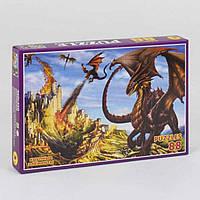 Пазлы детские Драконы 88 элементов Украина 08808