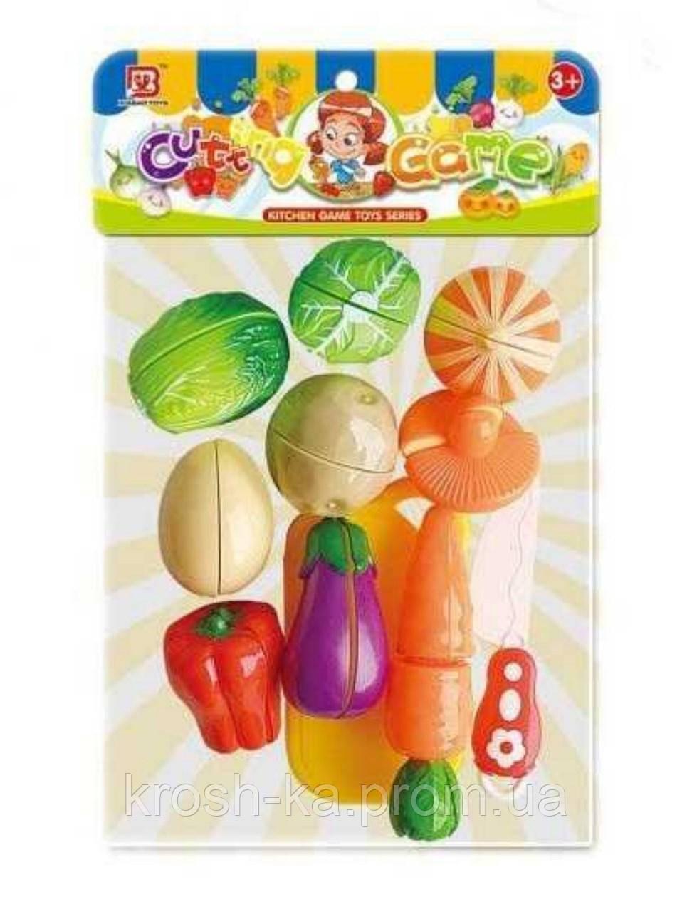Игровой набор овощей на липучках Китай 2202