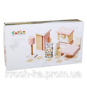 Деревянный набор Мебель Levenya Cubika Украина 13975