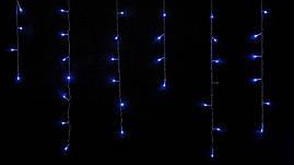Гірлянда внутрішня є icicle З 100 LED бахрома 3,2x0,7m синій прозорий IP20 DELUX