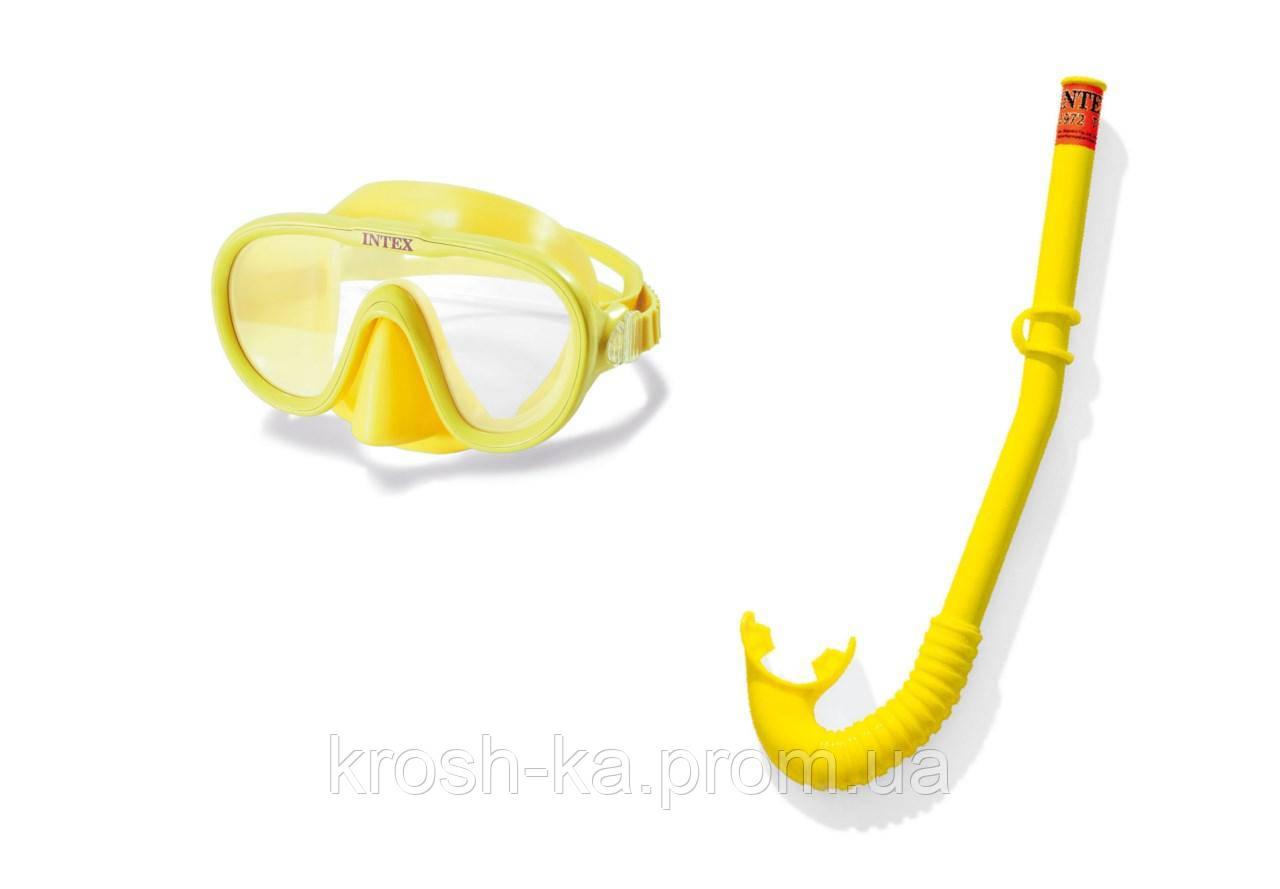 Набор для плавания (маска трубка) Искатель приключения от 8 лет Китай 55642