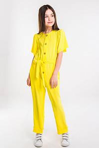 Комбинезон для девочки Фифи жёлтый(128-152)р (Suzie)Сьюзи Украина КБ-04009