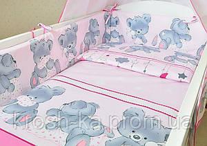Постельный комплект в детскую кровать Соня в ассортименте 8 ед. Эвисс Украина 55698