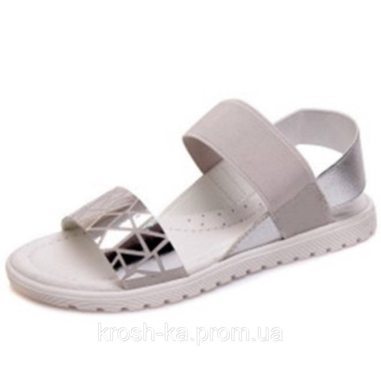 Босоножки для девочки серебро (32-37)р Weestep Китай R230251055