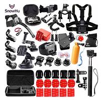 Набір аксесуарів SnowHu для екшн-камер GoPro, AIRON, SONY, ACME, Xiaomi, SJCam, EKEN, ThiEYE