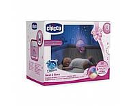 Ночник проектор детский Next2Stars розовый Chicco Italy 07647.10