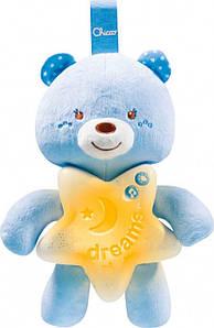 Ночник детский на кроватку Chicco Goodnight Bear голубой Chicco Italy 09156.20