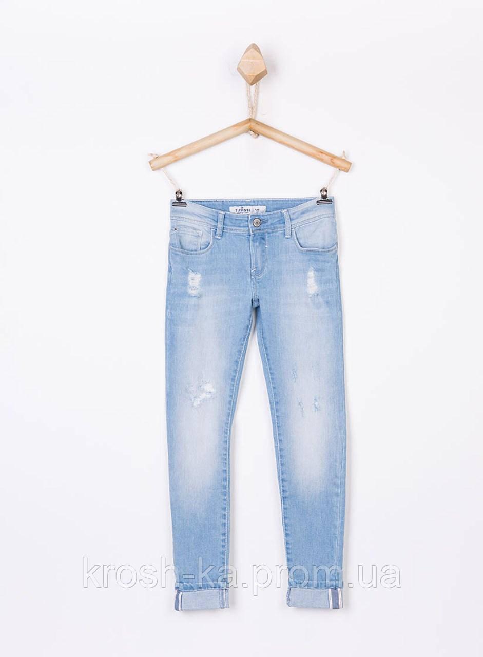 Джинси для дівчинки Suri_100 Slim блакитні (152,164)р Tiffosi Португалія 16693