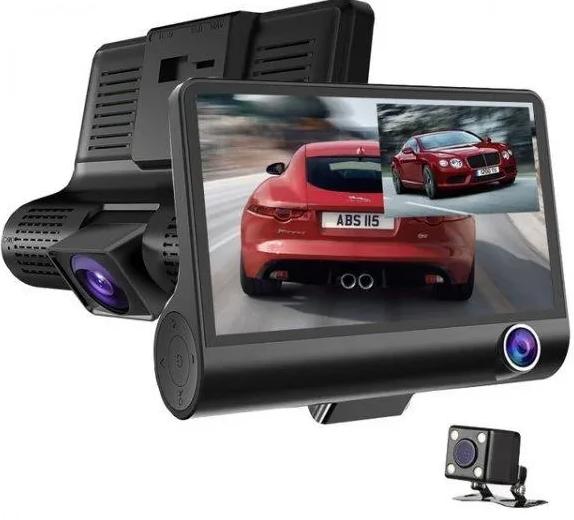 Авторегістратор XH202/319   Автомобільний відеореєстратор з 3 камерами