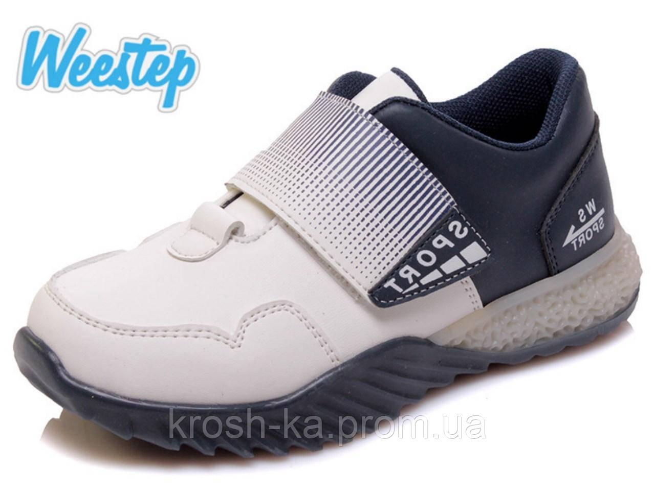 Кроссовки для мальчика (27-32)р сине-белый Weestep Китай R928153523 W