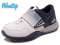 Кроссовки для мальчика (27-32)р сине-белый Weestep Китай R928153523 W, фото 1