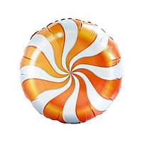 """Фольгированный шар 18"""" Конфетка разные цвета 45см Весёлая затея 1202-2104, фото 1"""