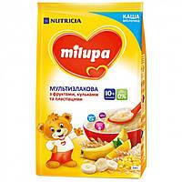 Каша молочная мультизлаковая с фруктами,хлопьями и шариками 10м+ 210г Nutricia 610025