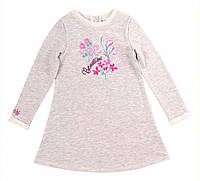 Платье для девочки серый меланж (104)р (Bembi)Бемби Украина ПЛ263