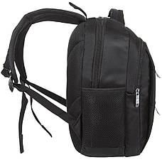 Рюкзак міський BAOHUA 39х30х16 тканина поліестер на ПВХ основі ксН7692ч, фото 3