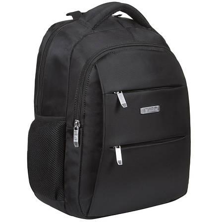 Рюкзак міський BAOHUA 39х30х16 тканина поліестер на ПВХ основі ксН7692ч, фото 2