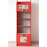 Детский книжный шкаф Форсаж