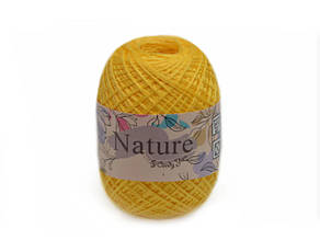 "Candу Yarn ""Nature"" Х50%/А50%, Желтый №21800"